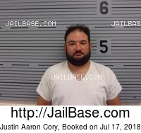 JUSTIN AARON CORY mugshot picture