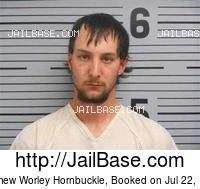 MATTHEW WORLEY HORNBUCKLE mugshot picture
