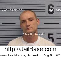 JAMES LEE MCCRARY mugshot picture