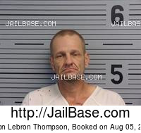 JASON LEBRON THOMPSON mugshot picture