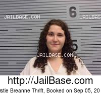 KIRSTIE BREANNE THRIFT mugshot picture