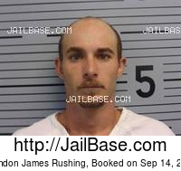 BRANDON JAMES RUSHING mugshot picture