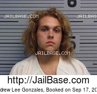 ANDREW LEE GONZALES mugshot picture