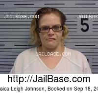 JESSICA LEIGH JOHNSON mugshot picture