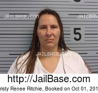 KRISTY RENEE RITCHIE mugshot picture