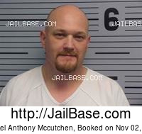 MICHAEL ANTHONY MCCUTCHEN mugshot picture