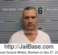 MANUEL DURAND WHITED mugshot picture