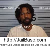 HANDY LEE DILLARD mugshot picture