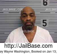 GREGORY WAYNE WASHINGTON mugshot picture