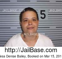 TESA DENISE BAILEY mugshot picture