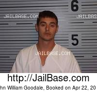 JOHN WILLIAM GOODALE mugshot picture