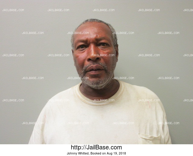 JOHNNY WHITTED mugshot picture