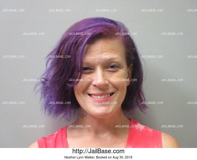HEATHER LYNN WALKER mugshot picture