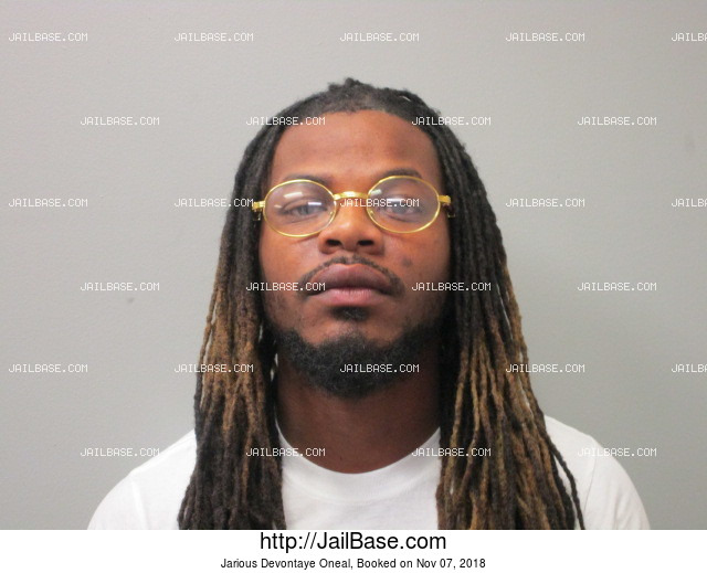 JARIOUS DEVONTAYE ONEAL mugshot picture