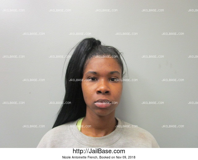 NICOLE ANTOINETTE FRENCH mugshot picture