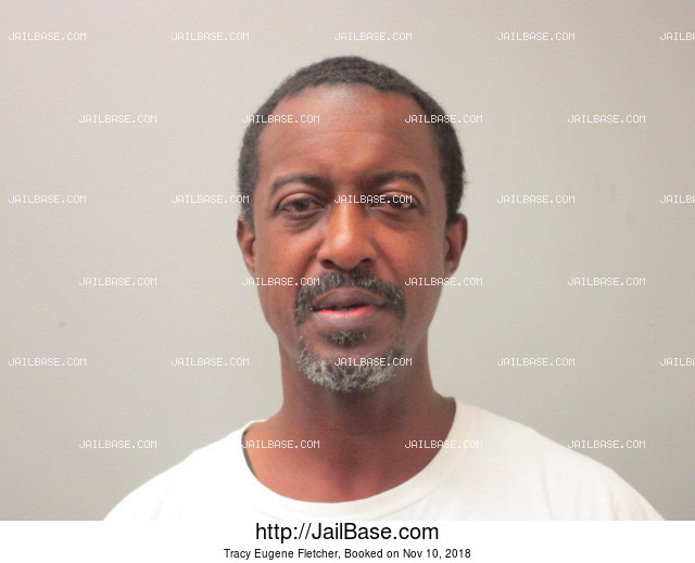 TRACY EUGENE FLETCHER mugshot picture