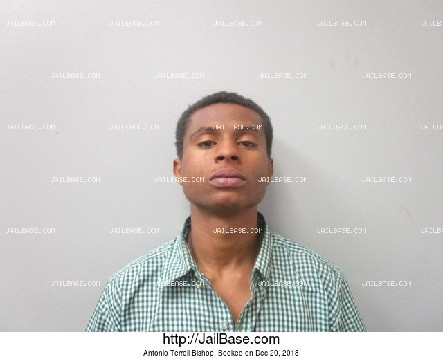 ANTONIO TERRELL BISHOP mugshot picture
