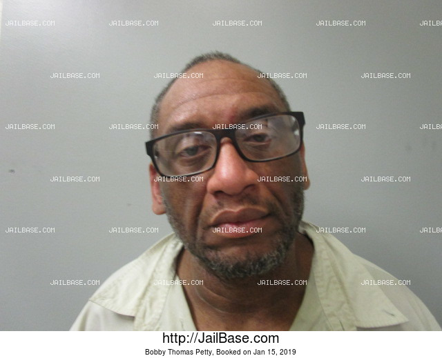 BOBBY THOMAS PETTY mugshot picture