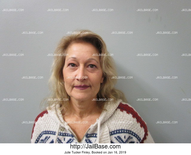 JULIE TUCKER FINLEY mugshot picture