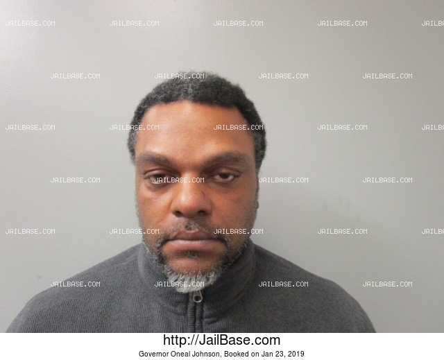 GOVERNOR ONEAL JOHNSON mugshot picture