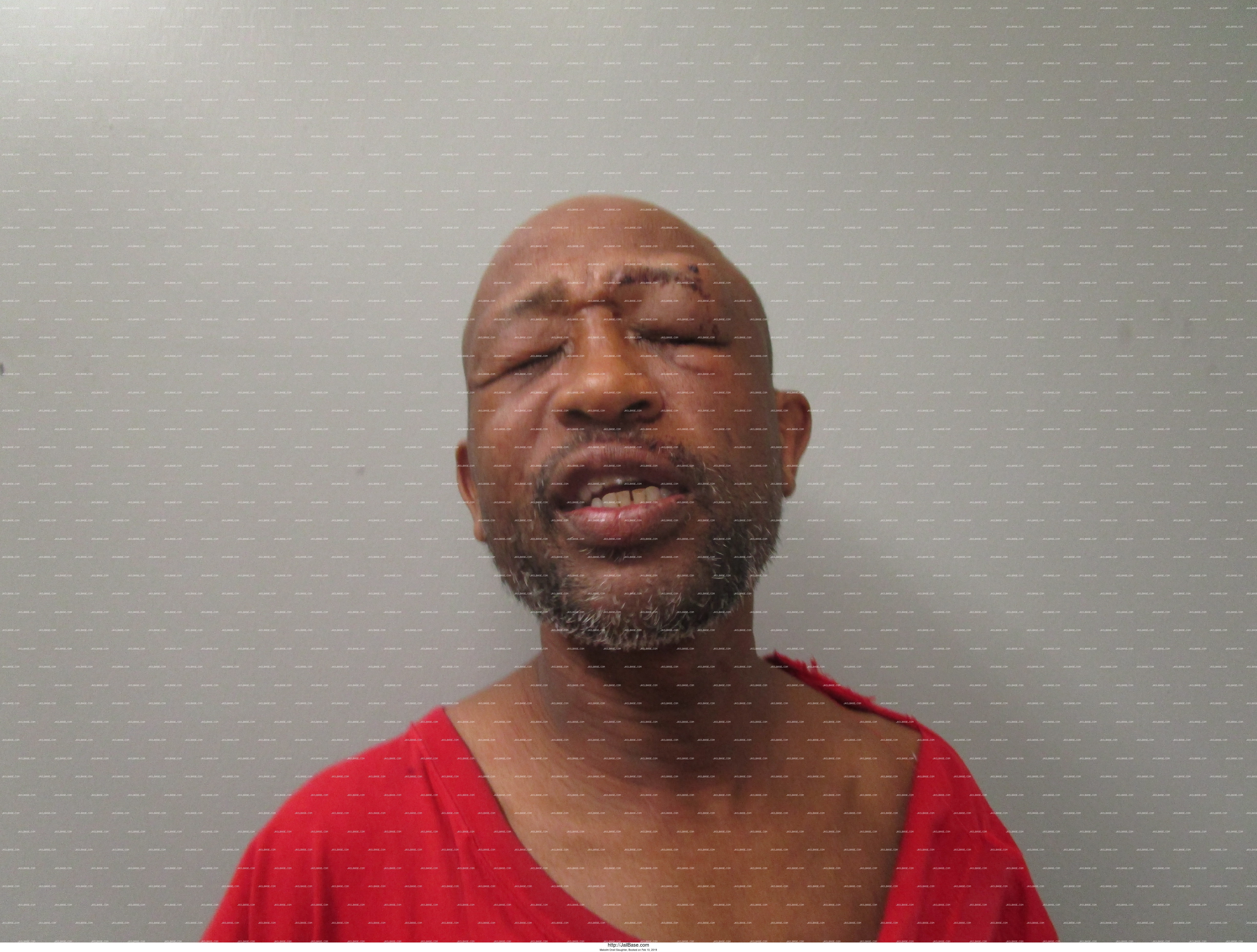 MALCOLM ONEIL SLAUGHTER mugshot picture