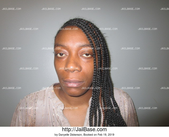 IVY DANYELLE DICKERSON mugshot picture
