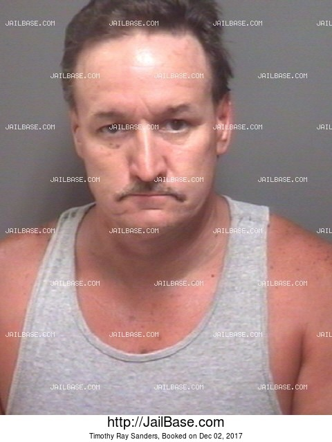 TIMOTHY RAY SANDERS mugshot picture