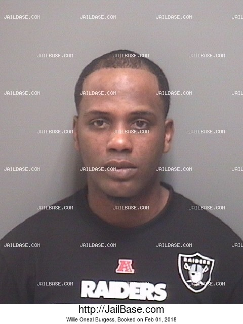 WILLIE ONEAL BURGESS mugshot picture