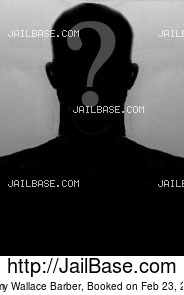 JIMMY WALLACE BARBER mugshot picture