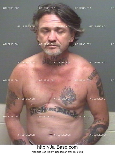 NICHOLAS LEE FRALEY mugshot picture