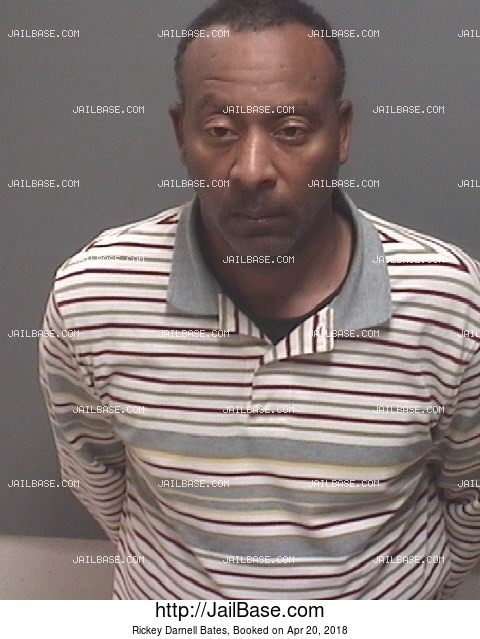 RICKEY DARNELL BATES mugshot picture