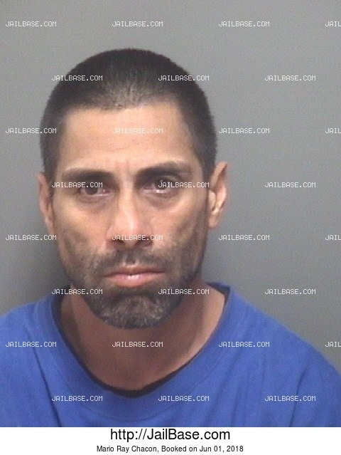 MARIO RAY CHACON mugshot picture
