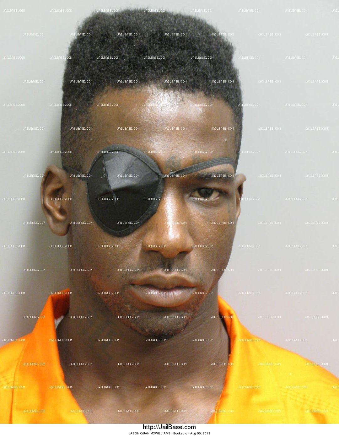 jason quan mcwilliams mugshot picture