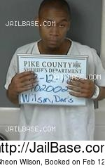 DARIS SHEON WILSON mugshot picture