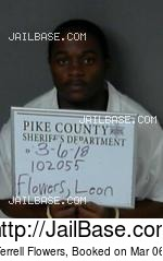 LEON TERRELL FLOWERS mugshot picture