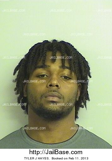 TYLER J HAYES mugshot picture