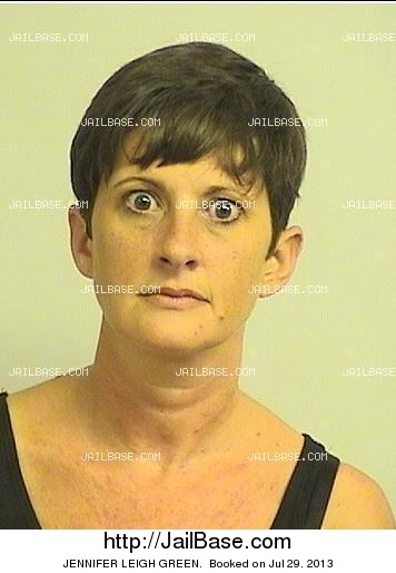 JENNIFER LEIGH GREEN mugshot picture