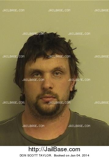 don scott taylor mugshot picture