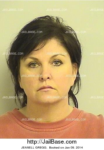 JEANELL GREGG mugshot picture