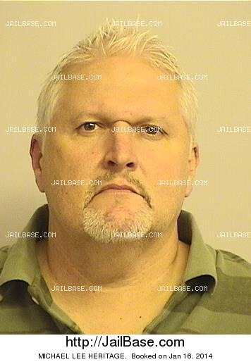 michael lee heritage mugshot picture