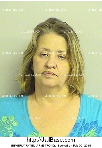 beverly rynel armstrong mugshot picture
