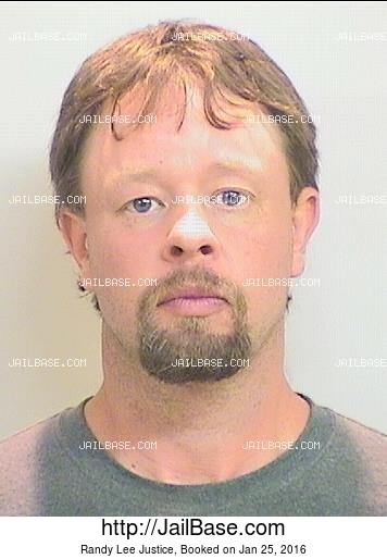 RANDY LEE JUSTICE mugshot picture