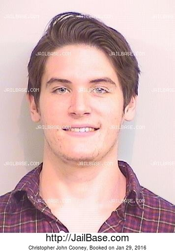 CHRISTOPHER JOHN COONEY mugshot picture