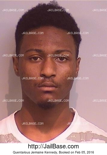 QUENTARIOUS JERMAINE KENNEDY mugshot picture