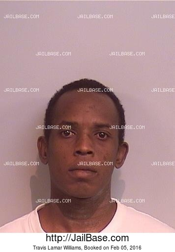 TRAVIS LAMAR WILLIAMS mugshot picture