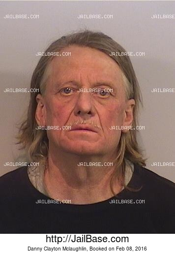 DANNY CLAYTON MCLAUGHLIN mugshot picture