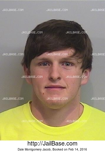 DALE MONTGOMERY JACOB mugshot picture