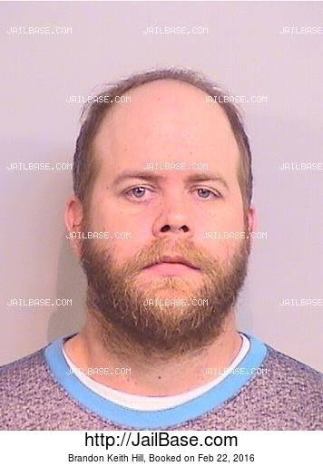 BRANDON KEITH HILL mugshot picture