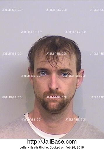 JEFFERY HEATH RITCHIE mugshot picture