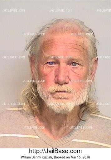 WILLIAM DANNY KIZZIAH mugshot picture